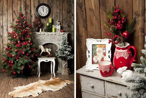 Новогодний декор интерьер - Современный декор Магазин предметов интерьера